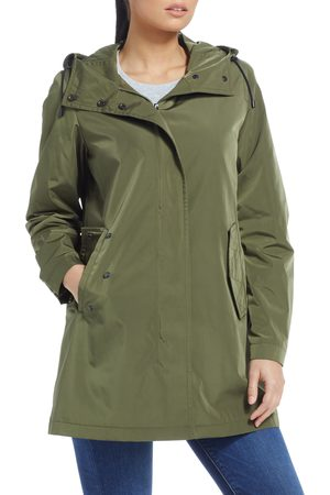 Gallery Petite Women's Hooded Zip-Up Jacket