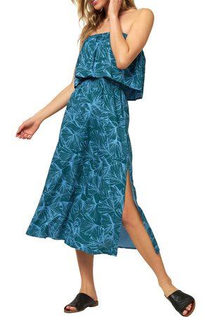 O'Neill Women's Koia Strapless Midi Dress