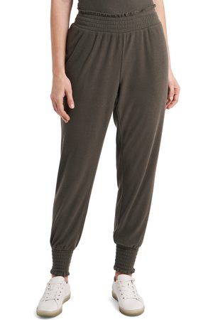 1. STATE Women's Smocked Joggers