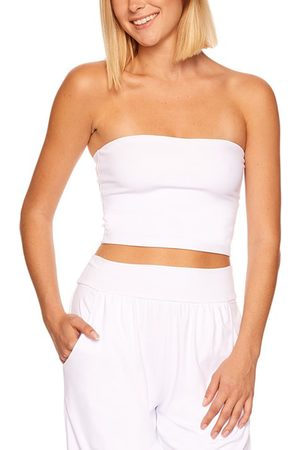Susana Monaco Women's Core Crop Tube Top