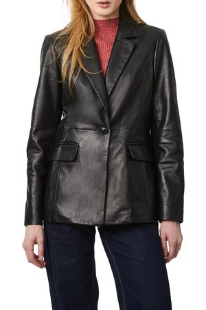 Bernardo Women's Leather Blazer
