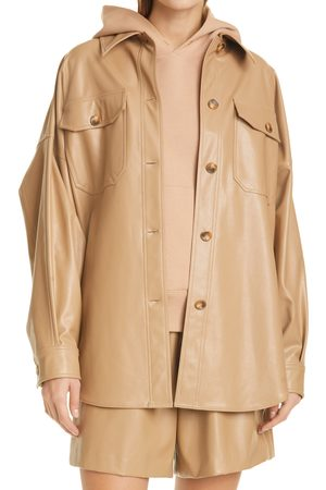 A.L.C. Women's Wellsley Oversize Faux Leather Jacket
