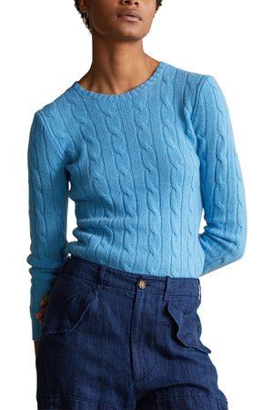 Polo Ralph Lauren Women's Julianna Cable Knit Cashmere Sweater