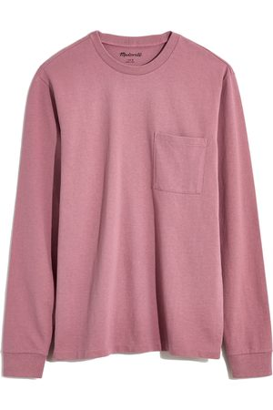 Madewell Men's Relaxed Long Sleeve Organic Cotton T-Shirt