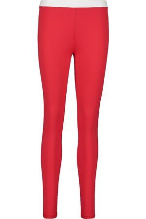 Balmain Womens Lycra Print Sport Leggings