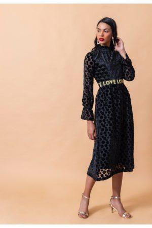 Emily Lovelock Velvet Heart and Spotted Love Dress