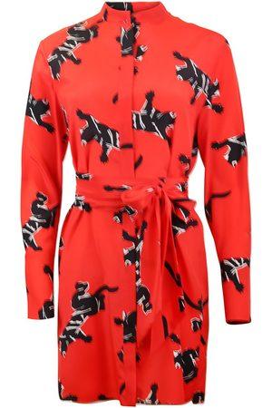 Diane von Furstenberg DVF LS Shirt Dress - Climbing Jag