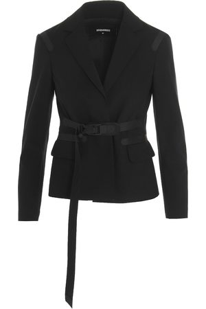 Dsquared2 WOMEN'S S75BN0772S40320900 OTHER MATERIALS COAT