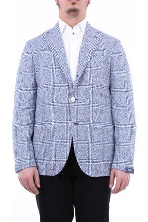 BARBA Jackets Blazer Men and white