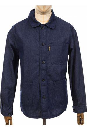 Le Laboureur Denim Twill Work Jacket - Indigo Denim