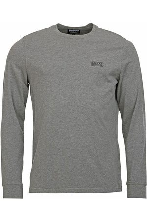 Barbour Barbour intl. long sleeved logo t-shirt, Colour: GREY