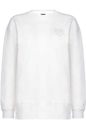 Pinko Women Sweatshirts - WOMEN'S 1G1639Y72ZZ13 COTTON SWEATSHIRT