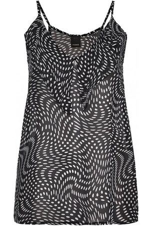 Pinko IMPACCIATO BLACK WHITE GEORGETTE TOP