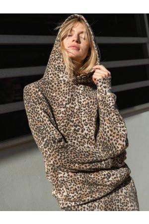 Ragdoll LA Hoodie Brown Leopard