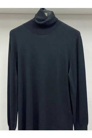 Riani Long Sleeved Black Polo Necked Jumper 887850/7673 999