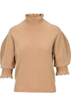 Chloé High neck balloon sleeves sweater