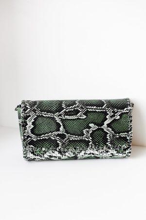 S120 Snake Leather Bag Green