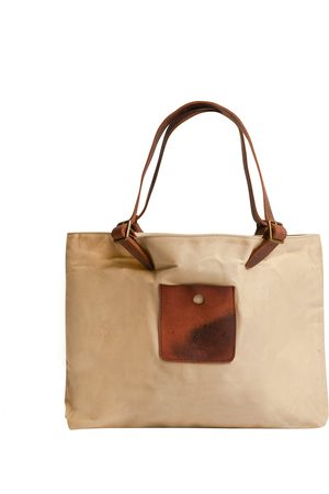 Burrows and Hare Burrows & Hare Canvas Tote Bag