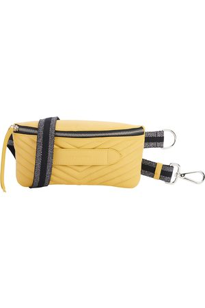 Dr. Martens Coachella Quilted Yellow Belt Bag