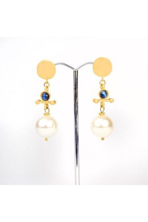 Yunion T Pearl Drop Earrings