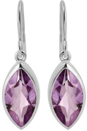 Pomegranate Marquise Earrings Amethyst
