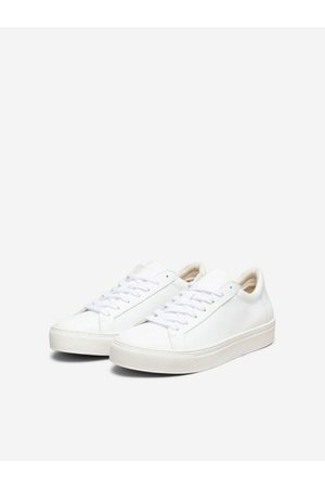 Selected Emma Rubber Sole Leather Trainer