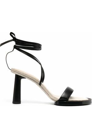 Jacquemus WOMEN'S 211FO10211401990 LEATHER SANDALS