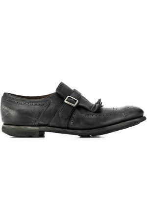 Church's MEN'S EOG0019PWF0AAB LEATHER MONK STRAP SHOES