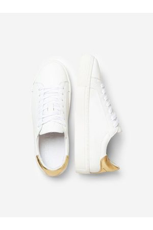 Selected Women Sneakers - Slected Femme - Donna Trainers Gold