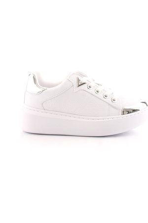 Guess WOMEN'S FL7BDYFAL12WHITE LEATHER SNEAKERS