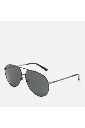 Gucci Men Sunglasses - Men's Metal Frame Sunglasses