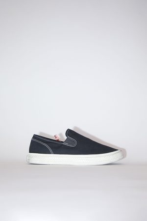 Acne Studios FN-WN-SHOE000441 /off white Canvas sneakers