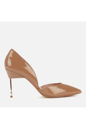 Kurt Geiger Women's Bond 90 Patent Leather Court Shoes