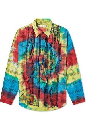 Pins & Needles 7 Cuts Tie Dye Flannel Shirt