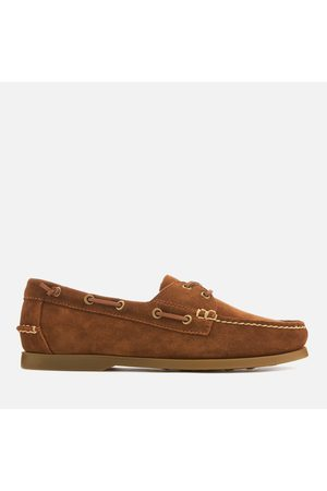 Polo Ralph Lauren Men's Merton Suede Boat Shoes