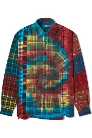 Pins & Needles Ribbon Flannel Tie Dye Shirt
