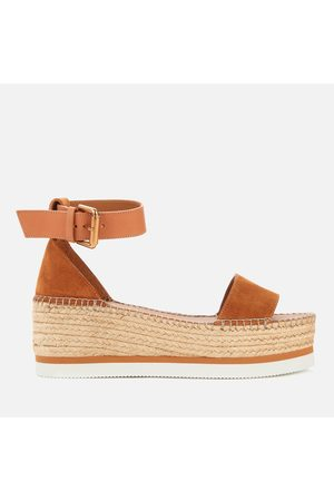 See by Chloé Women's Glyn Flatform Espadrille Sandals