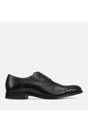 GRENSON Men's Bert Leather Toe Cap Oxford Shoes