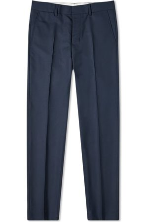 Ami Tropical Wool Cigarette Fit Trouser