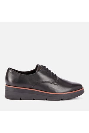 Clarks Women's Shaylin Lace Leather Shoes