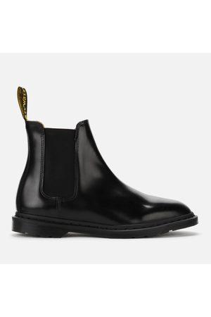 Dr. Martens Men's Graeme II Polished Smooth Leather Chelsea Boots