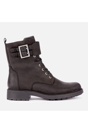 Clarks Women's Orinoco 2 Leather Lace Up Boots