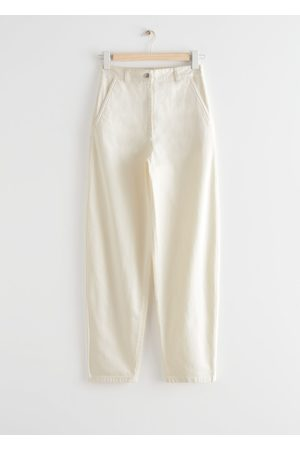 & OTHER STORIES Banana Leg Cotton Trousers