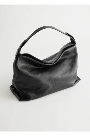 & OTHER STORIES Slouchy Leather Shoulder Bag