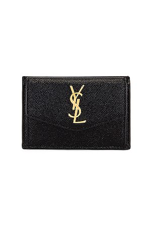 Saint Laurent Leather Wallet in