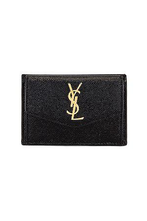 Saint Laurent Women Purses - Leather Wallet in