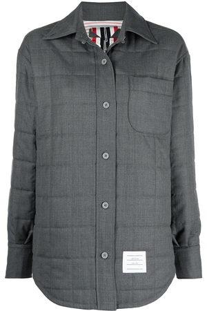 Thom Browne Women Shirts - Padded chest pocket shirt - Grey