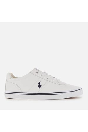 Polo Ralph Lauren Men's Hanford Leather Low Top Trainers