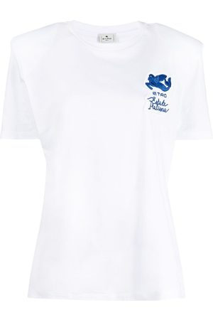 Etro Logo patch T-shirt