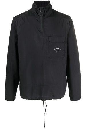Soulland Marlon logo-print lightweight jacket